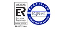 AENOR - Certificación de sistemas de gestión de la calidad ISO 9001